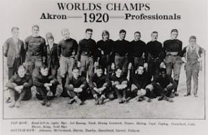 Equipa dos Akron Pros em 1920