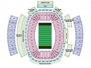 Ralph Wilson Stadium Seating Map