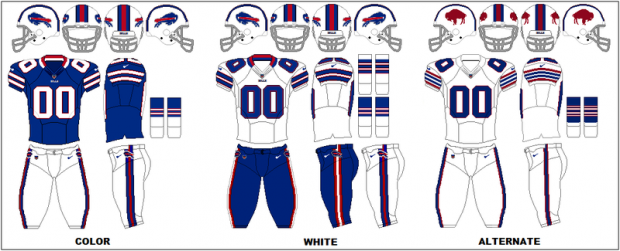 Buffalo Bills - Uniformes