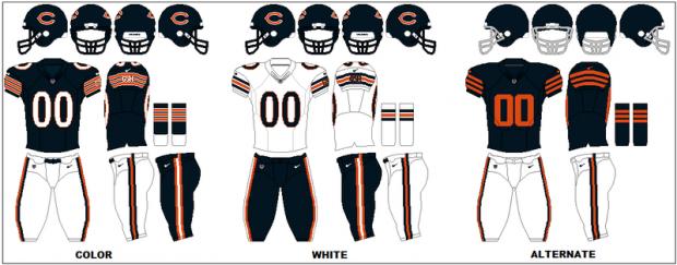 Chicago Bears - Uniforme