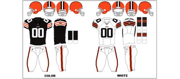 Cleveland Browns - Uniformes