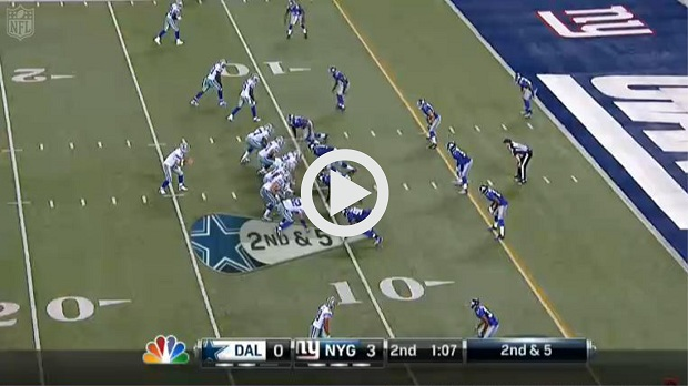 Cowboys Giants Highlights