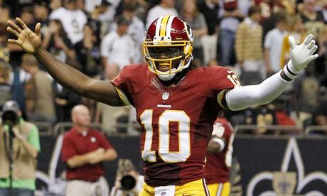Washington Redskins' Robert Griffin III